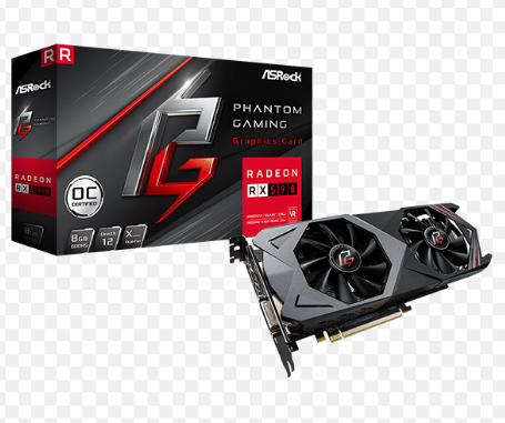 Відеокарта Asrock Phantom Gaming X Radeon RX590 8GB OC