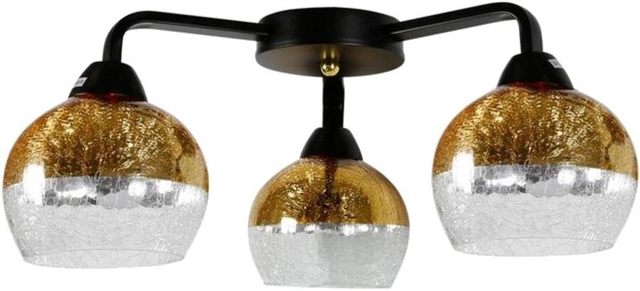 Бра Candellux 98-57273 Cromina Gold Ampla Black