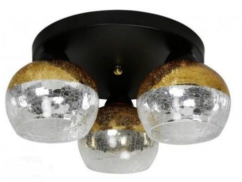 Бра Candellux 98-57280 Cromina Gold Black