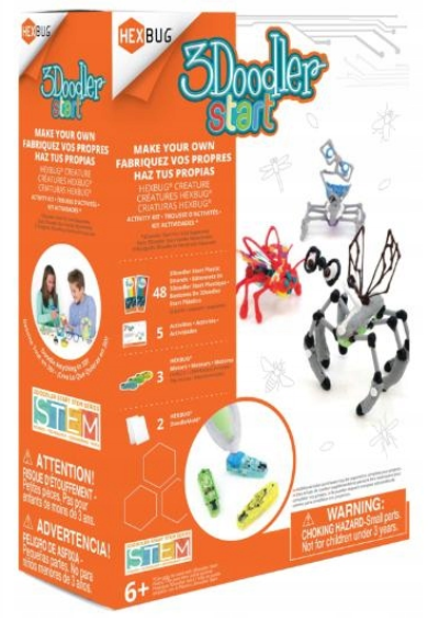 3D-ручка 3Doodler Start HEXBUG Creature + аксесуари