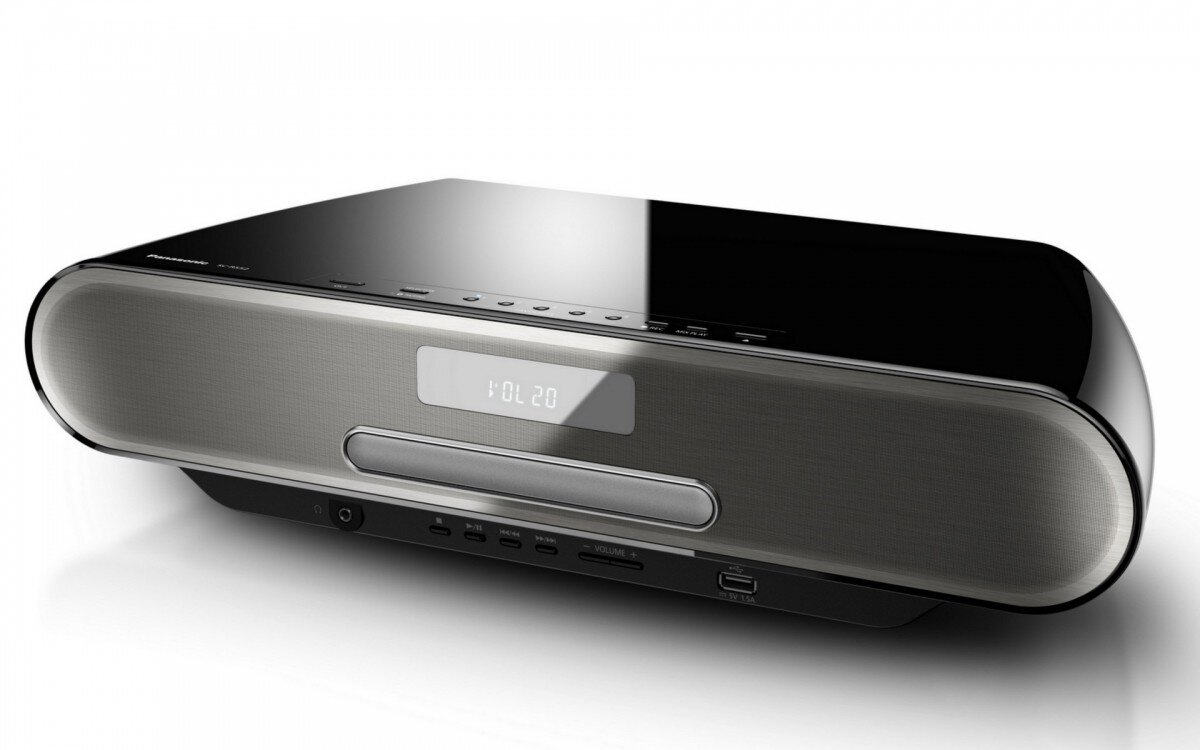 CD-плеєр Panasonic SC-RS52 Black