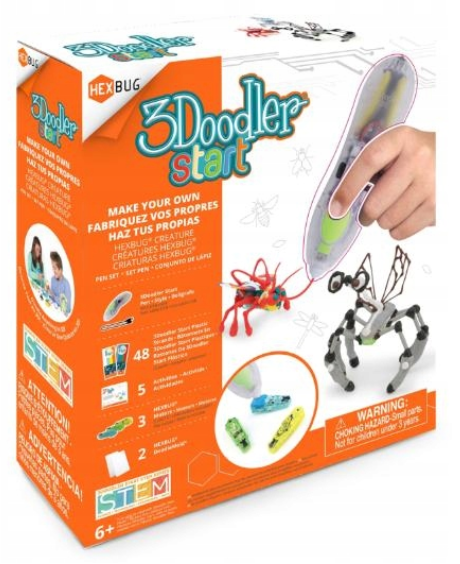 3D-ручка 3Doodler Start HEXBUG Creature