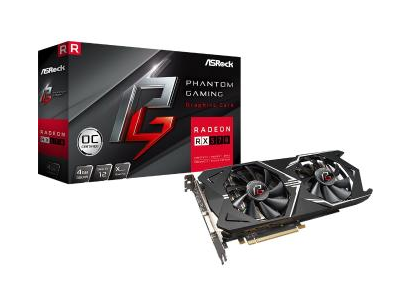 Відеокарта Asrock Phantom Gaming D Radeon RX570 4GB