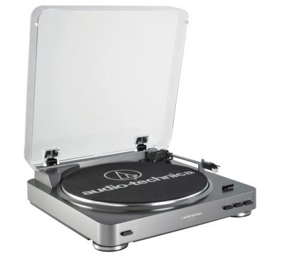 Грамофон Audio-Technica AT-LP60 USB Silver